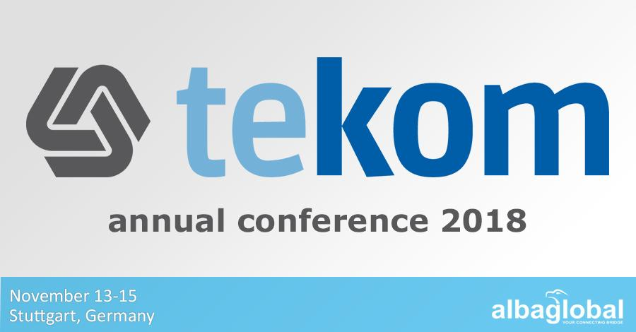 Albaglobal At Tekom/tcworld Conference 2018 In Stuttgart